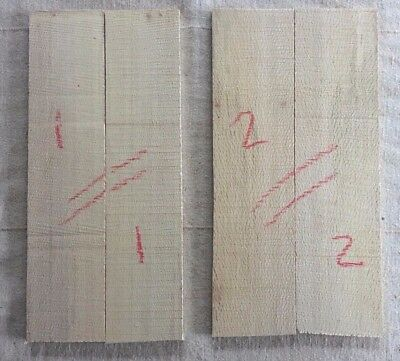 inlay set GRADE A Ziricote bookmatched guitar headplate head veneer blank
