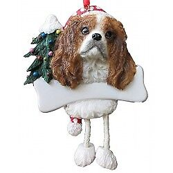 King Charles Cavalier, Personalized Dog Ornament  *CUTE*