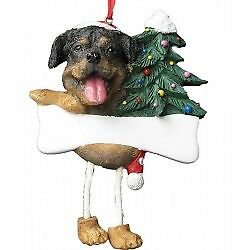 Rottweiler, Personalized Dog Ornament  *CUTE*