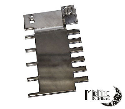 Midnite Solar Mnpv12-Busbar Finger Bar For 5-Fuses Or 6-Breakers