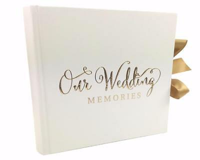 "Wedding Photo Album 80 6x4"" with verse design Gift WG704"