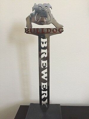 """Bull Dog Brewery Tap Handle 15"""" TALL"""