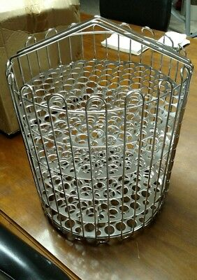 Winston,  4 head, pressure frier basket stainless steel