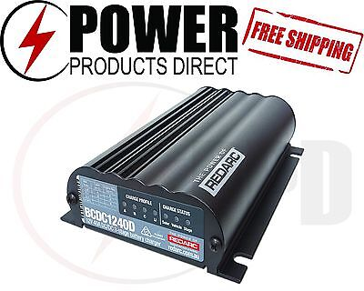 Redarc Bcdc1240D Dual Input 40A In-Vehicle Dcdc Battery Charger - Agm + Lithium