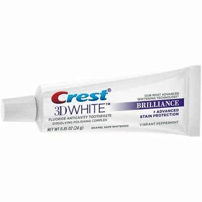 3x CREST3D WHITENING THERAPY TEETH WHITENING TOOTHPASTE TRAVEL SIZE  24gr FRESH