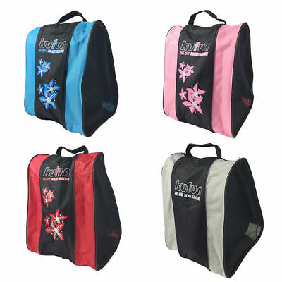 3Tier Portable Roller Skating Bag Ice Skate Shoulder Strap Carry Case Holder