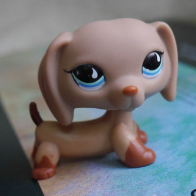 LPS #518 COLLECTION Action Figure Chocolate Dachshund LITTLEST PET SHOP TOY