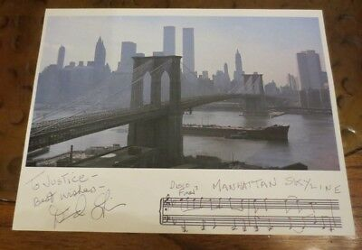 David Shire composer songwriter signed autographed photo Saturday Night Fever