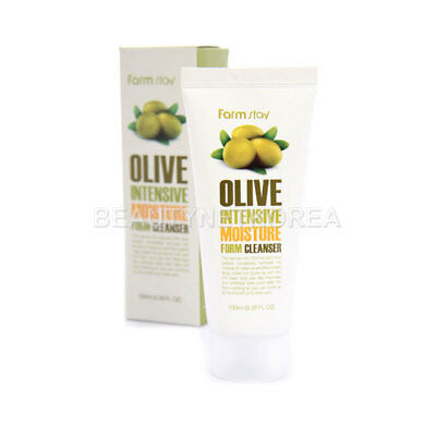[FARM STAY] Olive Intensive Moisture Form Cleanser 100ml - BEST Korea Cosmetic