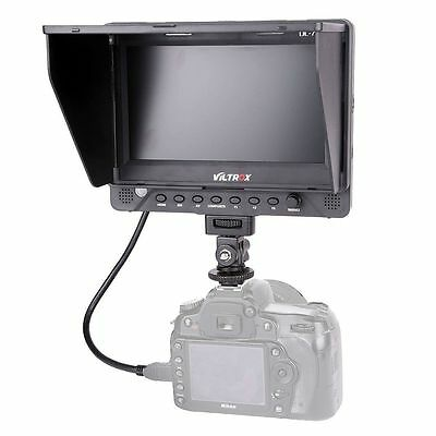 7'' Viltrox DC-70EX HDMI/SDI/AV Video LCD HD Monitor for Canon Nikon SLR Camera