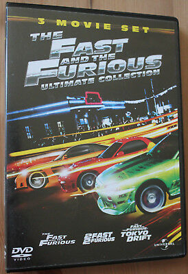 The Fast & The Furious 1 - 3 - Box Set