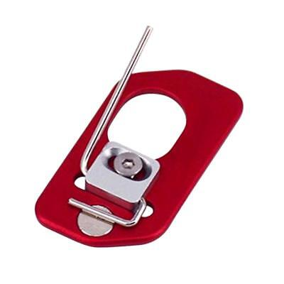 Archery Right Hand Alloy Magnetic Arrow Rest for Recurve Bow Hunting Red