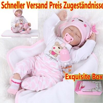 baby schlafen reborn baby puppe weihnachtsgeschenk. Black Bedroom Furniture Sets. Home Design Ideas