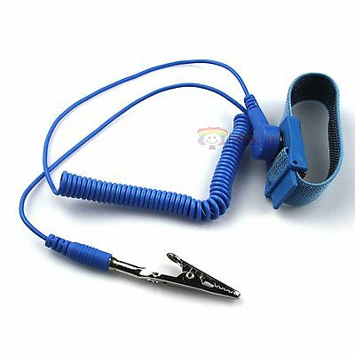 Universal Anti Static Antistatic ESD Adjustable Wrist Strap Band Grounding Wire