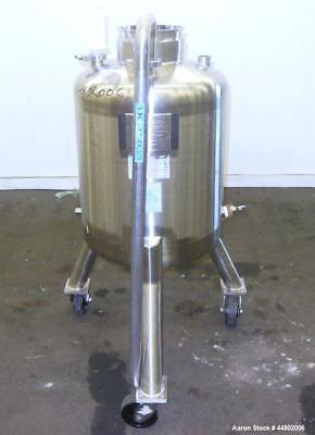Used- Precision Stainless Pressure Tank, 100 Liters (26.4 Gallons), 316L Stainle