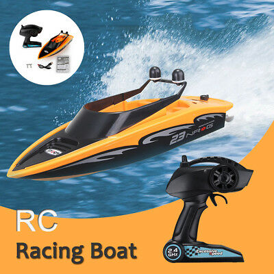 2.4Ghz 4Ch Radio Remote Control High-Speed Wireless RC Racing Boat Outdoor Gifts