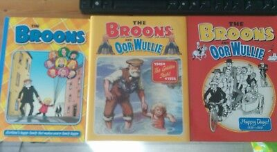 Broons Oor Wullie - Annual 2010 / Golden Years 1946-1956 / Happy Days 1936-1969