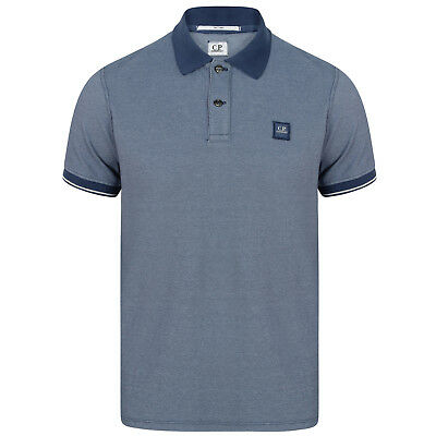C.p Company Regular Fit Contrast Short Sleeve Polo Shirt In Xxl