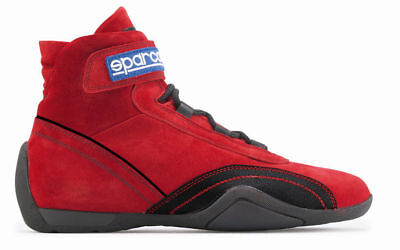 SPARCO RACE PLUS FIA shoes Suede Red 47 CLEARANCE SALE