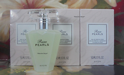 Avon Rare Pearls Eau de Perfume Spray 1.7 fl oz Lot Of 3