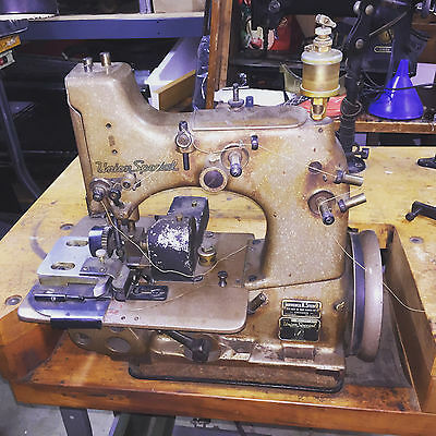 Union Special Carpet Binding Industrial Sewing Machine with PULLER