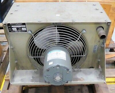 American Industrial Heat Air Cooled Heat Exchanger AC-15-3-R65-2P