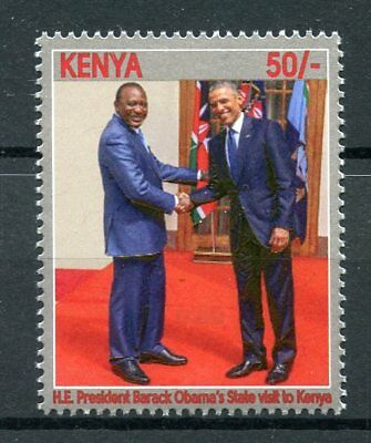 Kenya 2017 MNH President Barack Obama State Visit 1v Set US Presidents Stamps