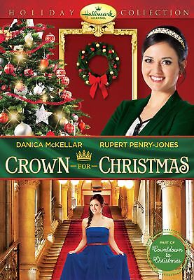 Crown for Christmas Movie DVD Hallmark Unopened Edition Single Disc Sealed 2017