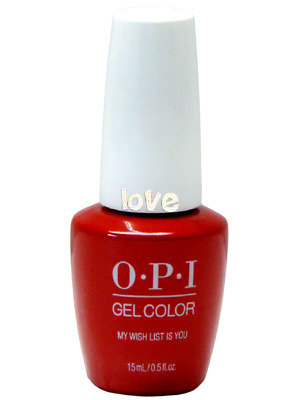 OPI GelColor New Gel Nail Polish Soak-Off J10- My Wish List is You