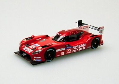 EBBRO 45256 1:43 Nissan GT-R LM NISMO Le Mans 24hours #23 Red