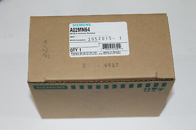 Siemens A02Mn64  2-Pole Auxiliary Switch For Md/nd/pd/rd Frame Breakers