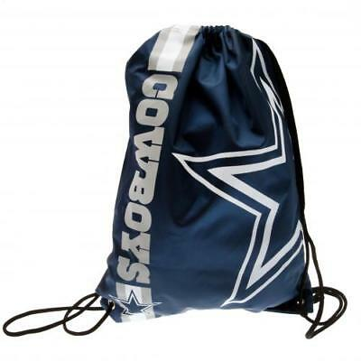 NFL Dallas Cowboys Football Team String Gym Bag