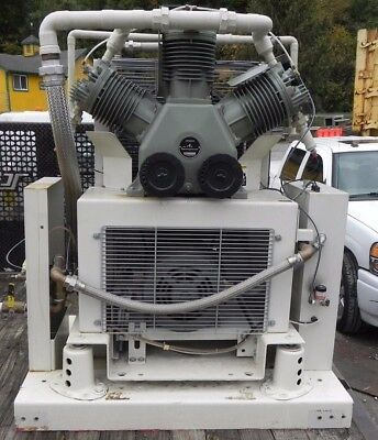 AIR COMPRESSOR by HATACHI MOD 150U-7CVH  OIL LESS AIR   (USED)