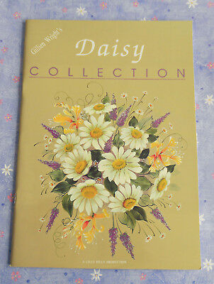 DAISY  COLLECTION  ~ Folk Art Designs by Gillien Wright ~ 1996 SC Book in GC