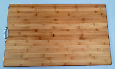 New Large Chopping Cheese Serve Board Cut Cutting Carbonized Bamboo  50 x 80 cm