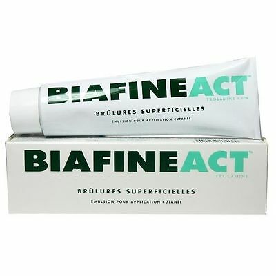 Biafine Act Emulsion Cream 139.5g Original Biafin Trolamine Sunburn Burn Skin