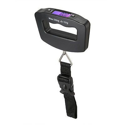 Electronic LCD Digital Luggage Scale 50kg /10g Travel Hanging Weight Hook