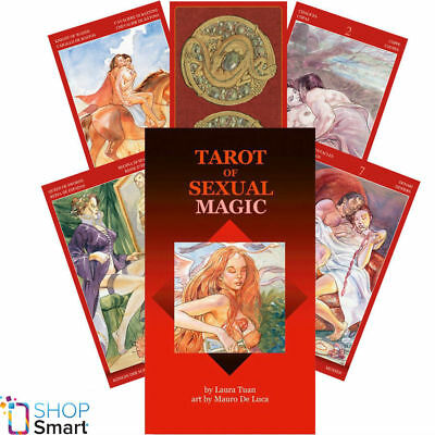 Tarot Of Sexual Magic Deck Cards Tuan Esoteric Fortune Telling Lo Scarabeo New