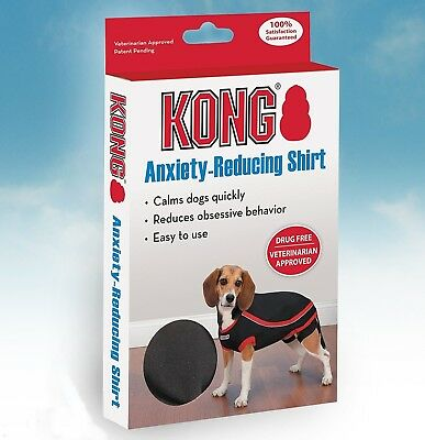 Genuine Kong Anxiety-Reducing Dog Clothing Shirt Calming Vest Coat Fireworks