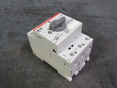 Abb Ms325 Ms 325 Manual Motor Starter 2.5-4 Amp  3 Hp *warranty Included* Ms325