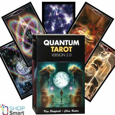 Quantum Tarot Version 2.0 Deck Cards Stopforth Lo Scarabeo Esoteric Telling New