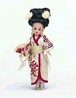 Alexander Doll Company 10 In Japanese Bride 28590