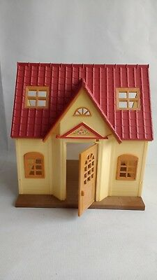 Sylvanian Families Cosy Cottage Starter Home House SHELL ONLY No Furniture Figur