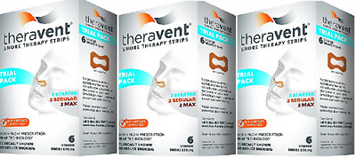 Theravent Snore Therapy Strips (Trial Pack) ( 3 Pack)