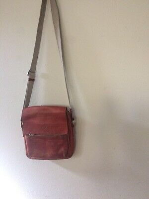 AUTHENTIC MULBERRY VINTAGE leather crossbody bag  026904 -  75.00 ... db1481780d
