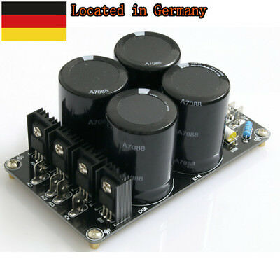 New version Assembled 4*10000uF/50V high quality power supply board for AMP DE