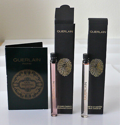 GUERLAIN * 3 verschiedene Duftproben der Exclusive Collection