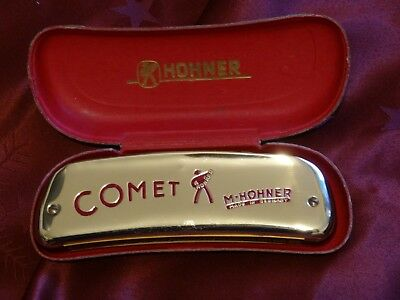 Harmonica Hohner Comet Harmonica (Single-sided, octave-tuned)