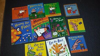 Maisy Mouse 10 Childrens Book Collection Educational By Lucy Cousins
