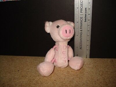 Pez dispenser pig keychain-plush-Use Ebay cart to combine shipping